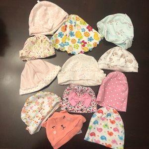 Infant hat bundle